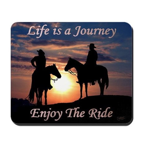 Life is a Journey - Mousepad