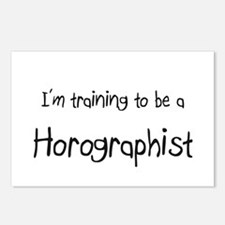I'm training to be a Horographist Postcards (Packa