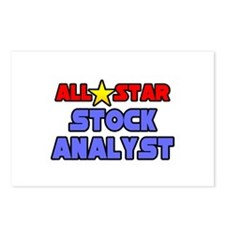 """""""All Star Stock Analyst"""" Postcards (Package of 8)"""