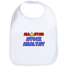 """""""All Star Stock Analyst"""" Bib"""