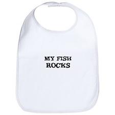 MY FISH ROCKS Bib