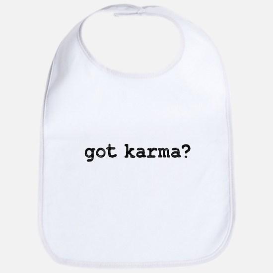 Got Karma? Bib