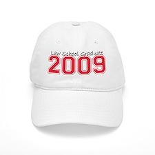 Law School Graduate 2009 (Red) Baseball Cap