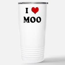 I Love MOO Travel Mug
