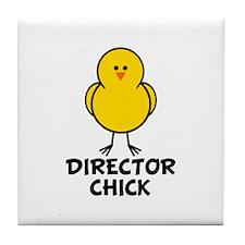 Director Chick Tile Coaster