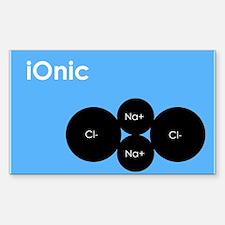 iOnic iPod Spoof Rectangle Decal