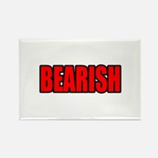 """BEARISH"" Rectangle Magnet"