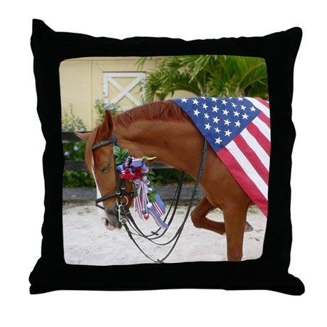 In Honor Throw Pillow