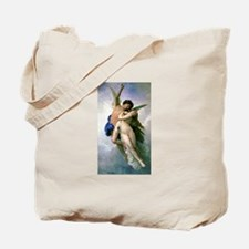 Cupid & Psyche x2 Tote Bag by Bouguereau