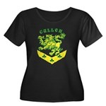 Cullen Crest Women's Plus Size Scoop Neck Dark T-S