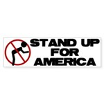Stand For America Bumper Sticker (10 pk)