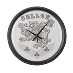 Cullen Crest Large Wall Clock