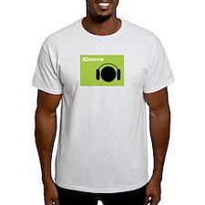 iGroove iPod Spoof Ash Grey T-Shirt