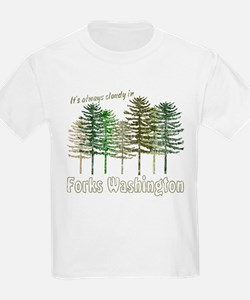 Always Cloudy in FORKS T-Shirt
