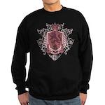 Black Family Crest Sweatshirt (dark)