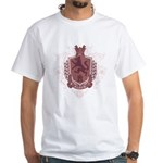 Black Family Crest White T-Shirt