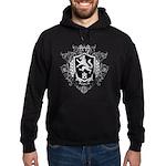Black Family Crest Hoodie (dark)