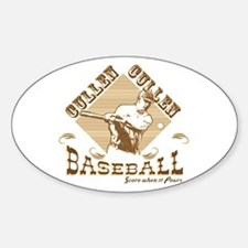 Vintage Cullen Baseball Oval Decal