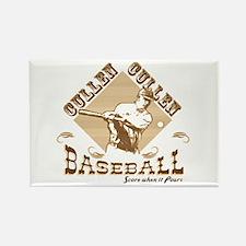 Vintage Cullen Baseball Rectangle Magnet