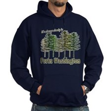 Always Cloudy in Forks Hoodie