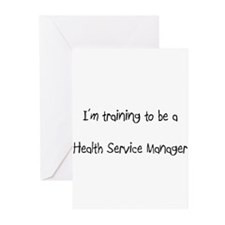 I'm training to be a Health Service Manager Greeti