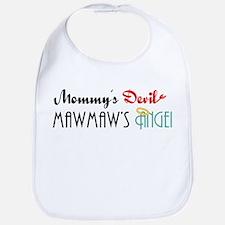 Mommy's Devil, MawMaw's Angel Bib