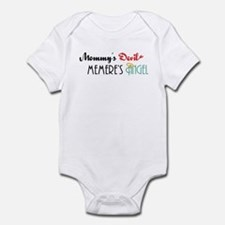 Mommy's Devil, Memere's Angel Infant Bodysuit