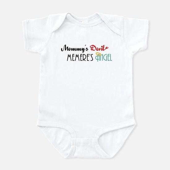 Mommy's Devil, Memere's Angel Infant Bodysuit