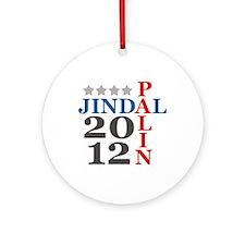Palin Jindal 2012 Ornament (Round)