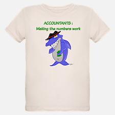 Shark Accountant T-Shirt