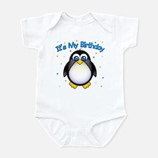 Birthday Penguin Infant Bodysuit