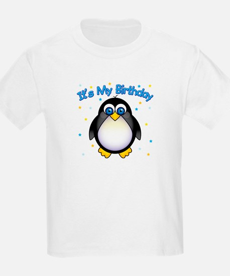 Birthday Penguin T-Shirt