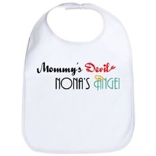 Mommy's Devil, Nona's Angel Bib