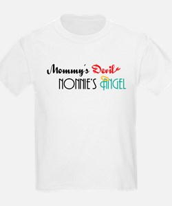 Mommy's Devil, Nonnie's Angel T-Shirt