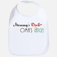 Mommy's Devil, Oma's Angel Bib