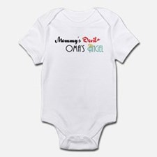 Mommy's Devil, Oma's Angel Infant Bodysuit