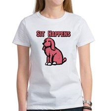 2-sit happenspink 4-10 T-Shirt