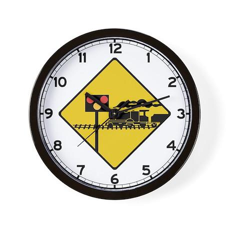Level Crossing, Ireland Wall Clock
