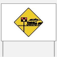 Level Crossing, Ireland Yard Sign