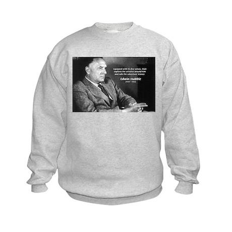 Exploration: Edwin Hubble Kids Sweatshirt Exploration ...