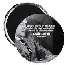 """Exploration: Edwin Hubble 2.25"""" Magnet (10 pack)"""