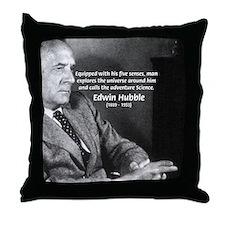 Exploration: Edwin Hubble Throw Pillow