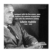 Exploration: Edwin Hubble Tile Coaster
