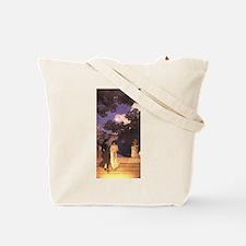 Maxfield Parrish Mural Tote Bag