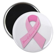 """Breast Cancer awareness 2.25"""" Magnet (100 pac"""