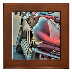 The Vette Framed Tile