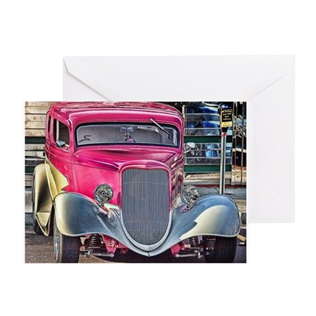 Roadster Art Greeting Cards (Pk of 10)