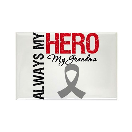 BrainCancerHero Grandma Rectangle Magnet (100 pack