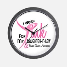 I Wear Pink For My Daughter-In-Law 41 Wall Clock