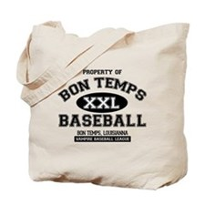 Property of Bon Temps Basebal Tote Bag